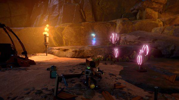 Ratchet & Clank Ardolis Ryno spybot location screenshot