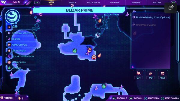 Ratchet & Clank Rift Apart Gold Bolt 2 Blizon location