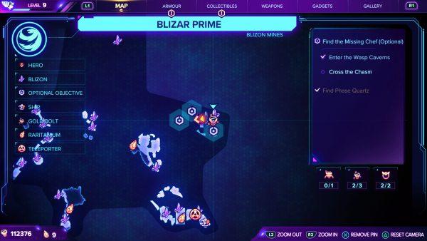 Ratchet & Clank Rift Apart Blizar Prime Gold Bolt 3 location