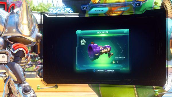Ratchet & Clank Rift Apart Bouncer