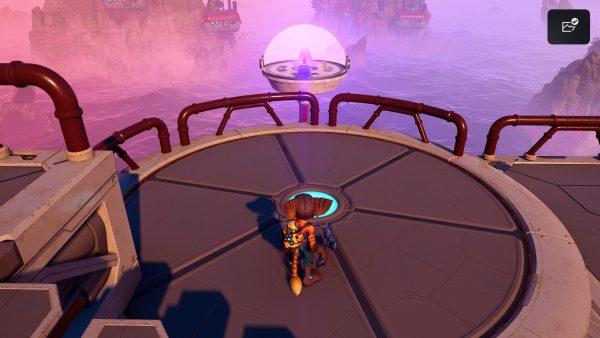 Ratchet & Clank Cordelion Gold Bolt 2 location screenshot