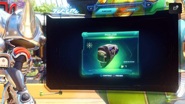 Ratchet & Clank Rift Apart Pixelizer
