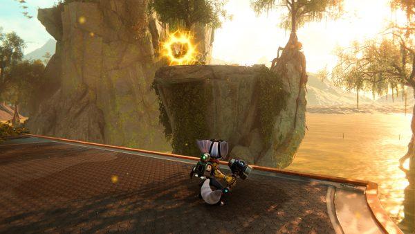 Ratchet & Clank Rift Apart Sargasso Gold Bolt 1 location screenshot