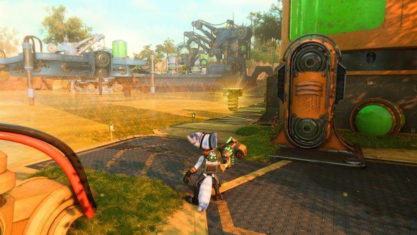 Ratchet & Clank Rift Apart Sargasso Gold bolt 2 location screenshot