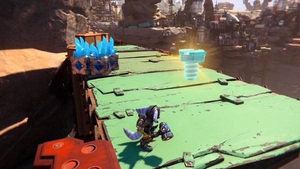 Ratchet & Clank Rift Apart Torren IV Gold Bolt 1