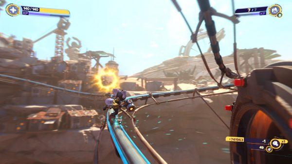 Ratchet Clank Rift Apart Torren IV Gold bolt 2