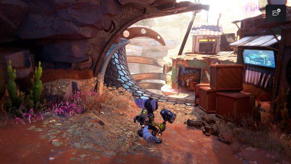 Ratchet & Clank Rift Apart Torren IV Spybot magstrip