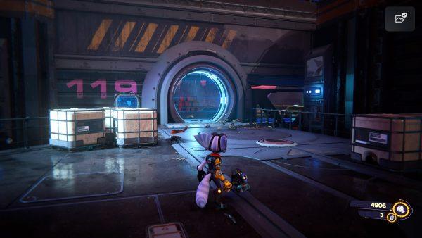 Ratchet & Clank Rift Apart Viceron gold bolt location screenshot