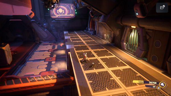 Ratchet & Clank Rift Apart Viceron Gold Bolt 3 location screenshot