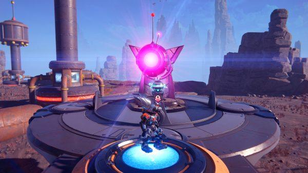 Ratchet & Clank Rift Apart Lorb 3 moving platform