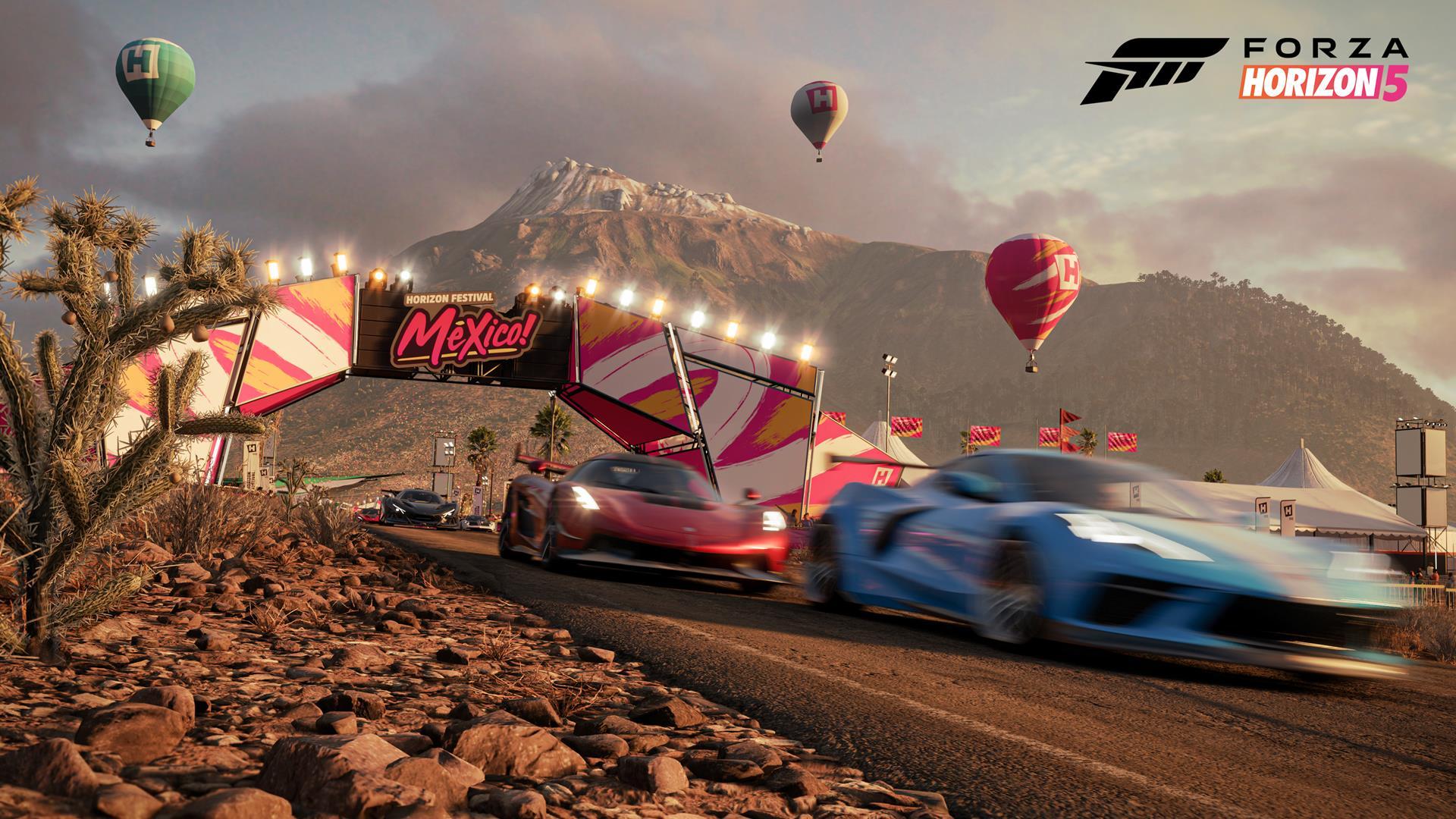 Forza Horizon 5 has 60fps performance modes on Xbox Series X/S - VG247