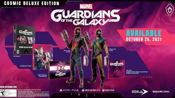 Where to pre-order Guardians of the Galaxy Cosmic Deluxe edition