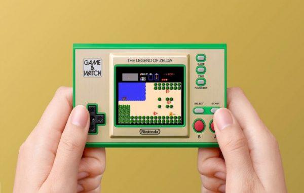 Pre-order Zelda Game & Watch