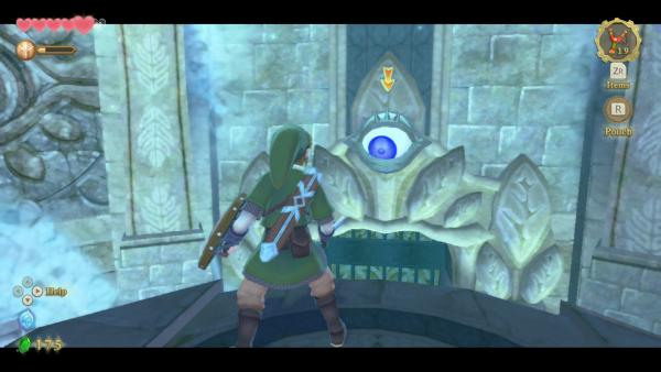 Zelda Skyward Sword: how to open the eye door puzzles