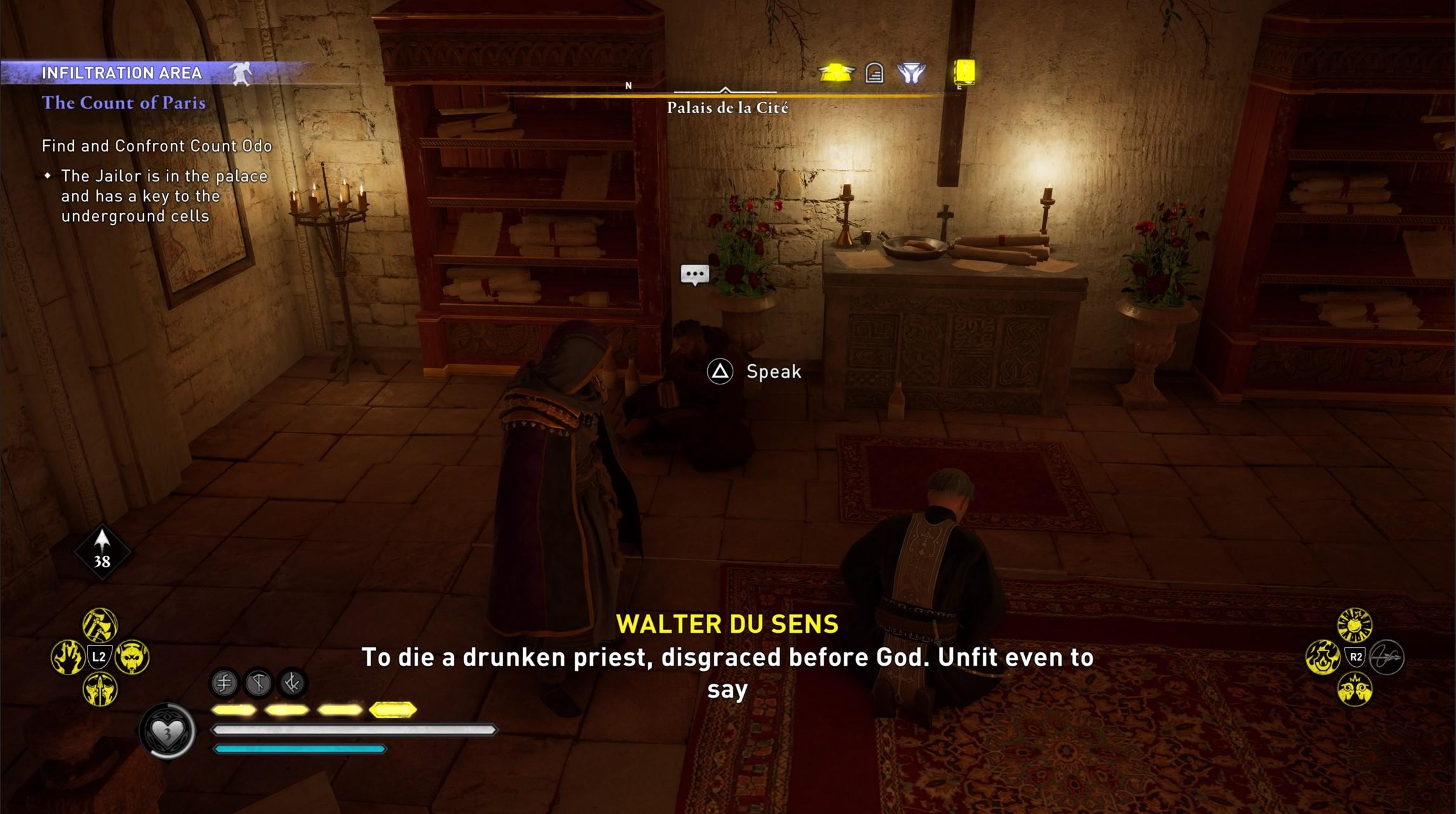 assassins creed valhalla count of paris confront odo walter du sens Assassin's Creed Valhalla Siege of Paris The Count of Paris | Confront Odo