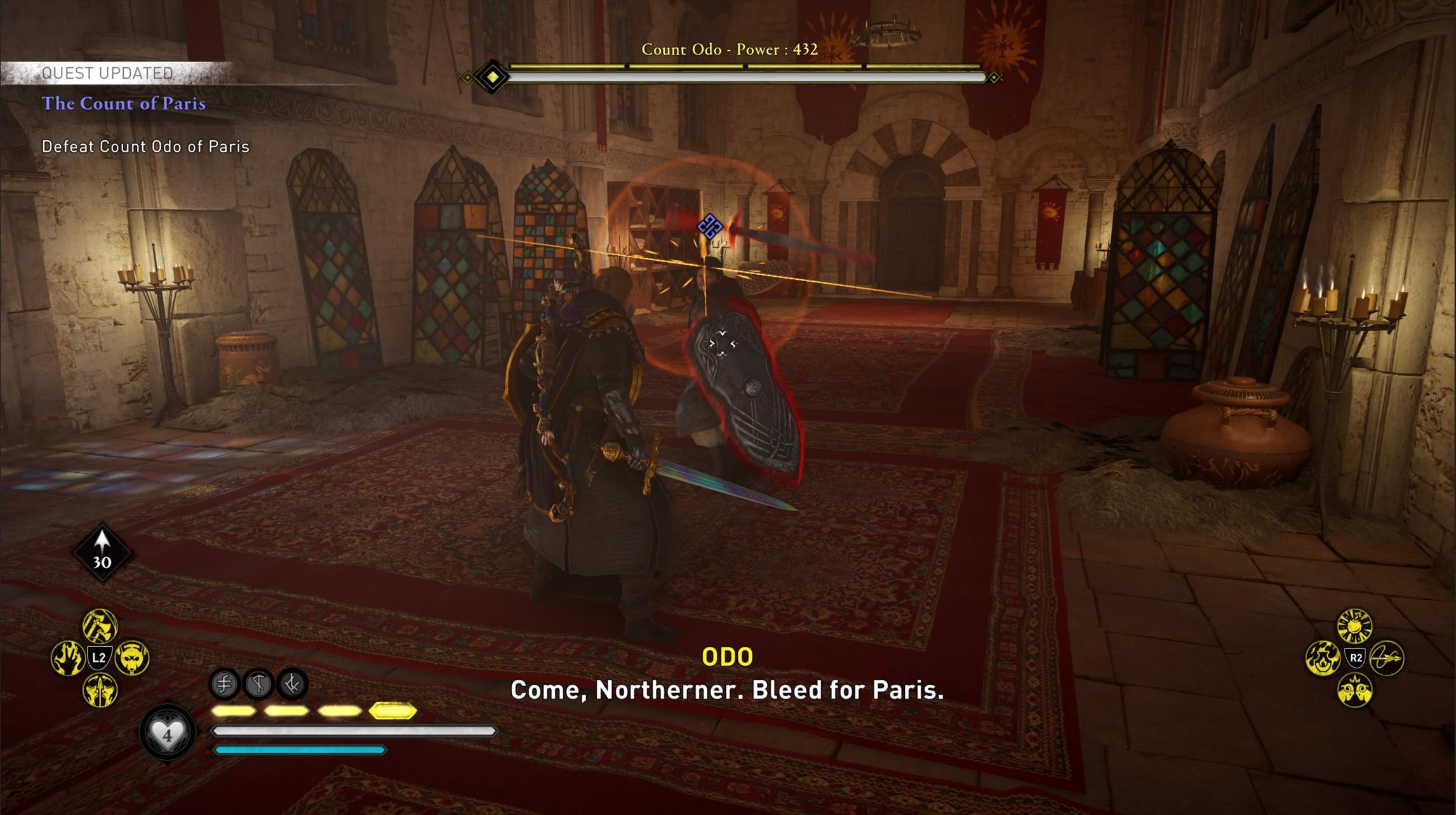assassins creed valhalla count of paris odo boss Assassin's Creed Valhalla Siege of Paris The Count of Paris | Confront Odo