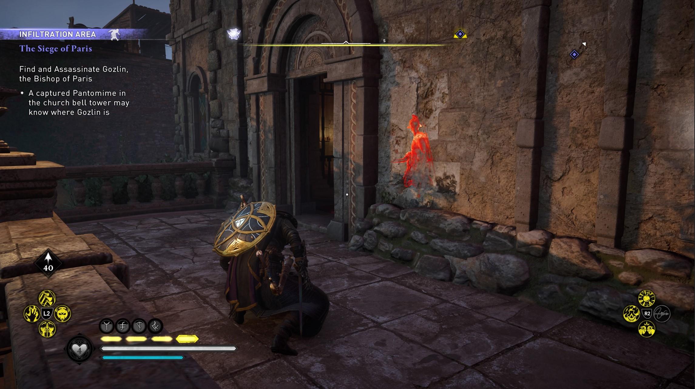 assassins creed valhalla gozlin assassination event path Assassin's Creed Valhalla Siege of Paris | Bishop Gozlin Assassination Event