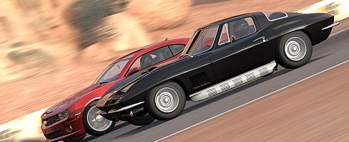 Drag Racing In Forza 3 Features American Muscle Cars Vg247