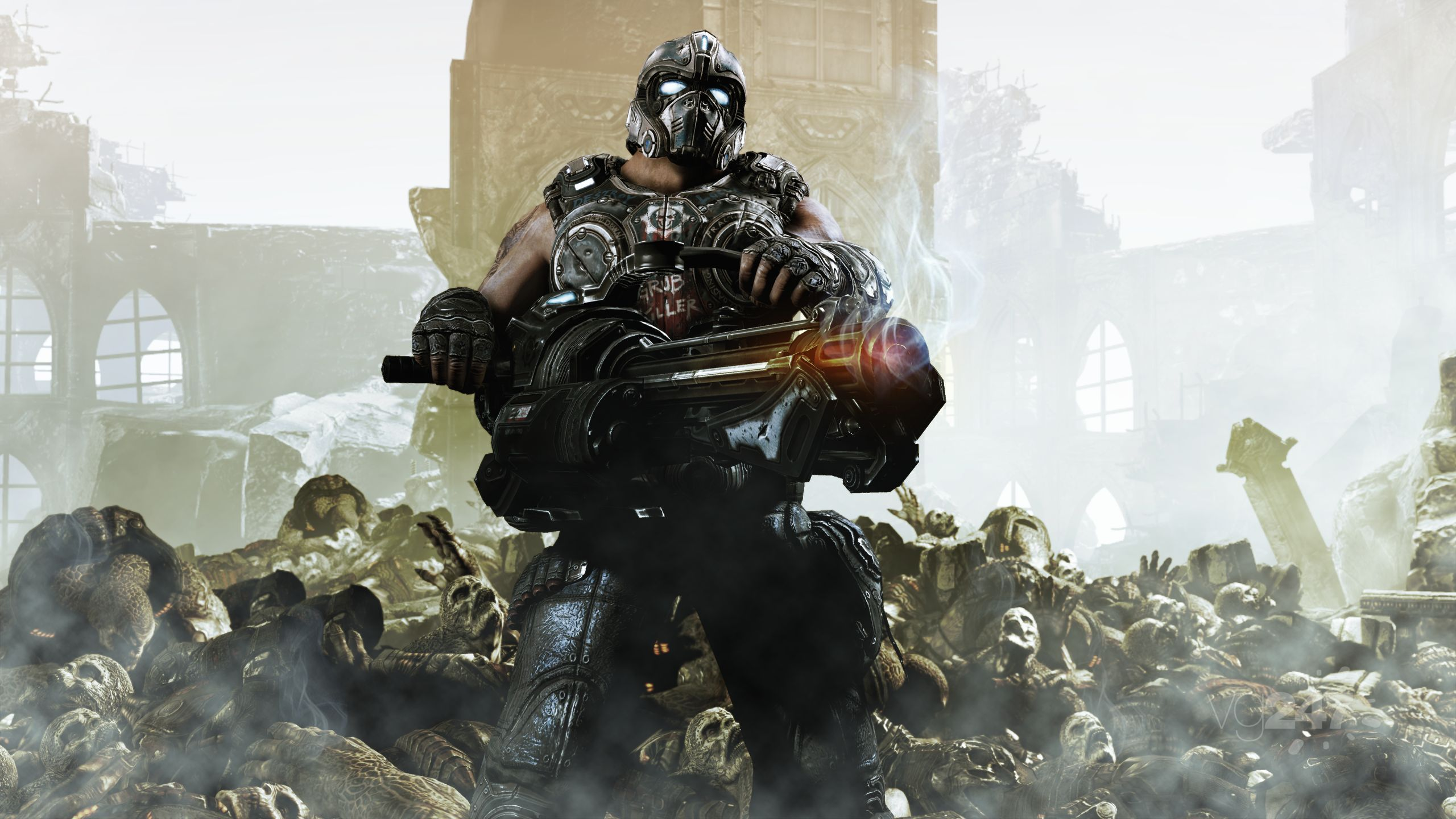 Gears 3 the fate of carmine rests in your hands vg247 - Gears of war carmine wallpaper ...