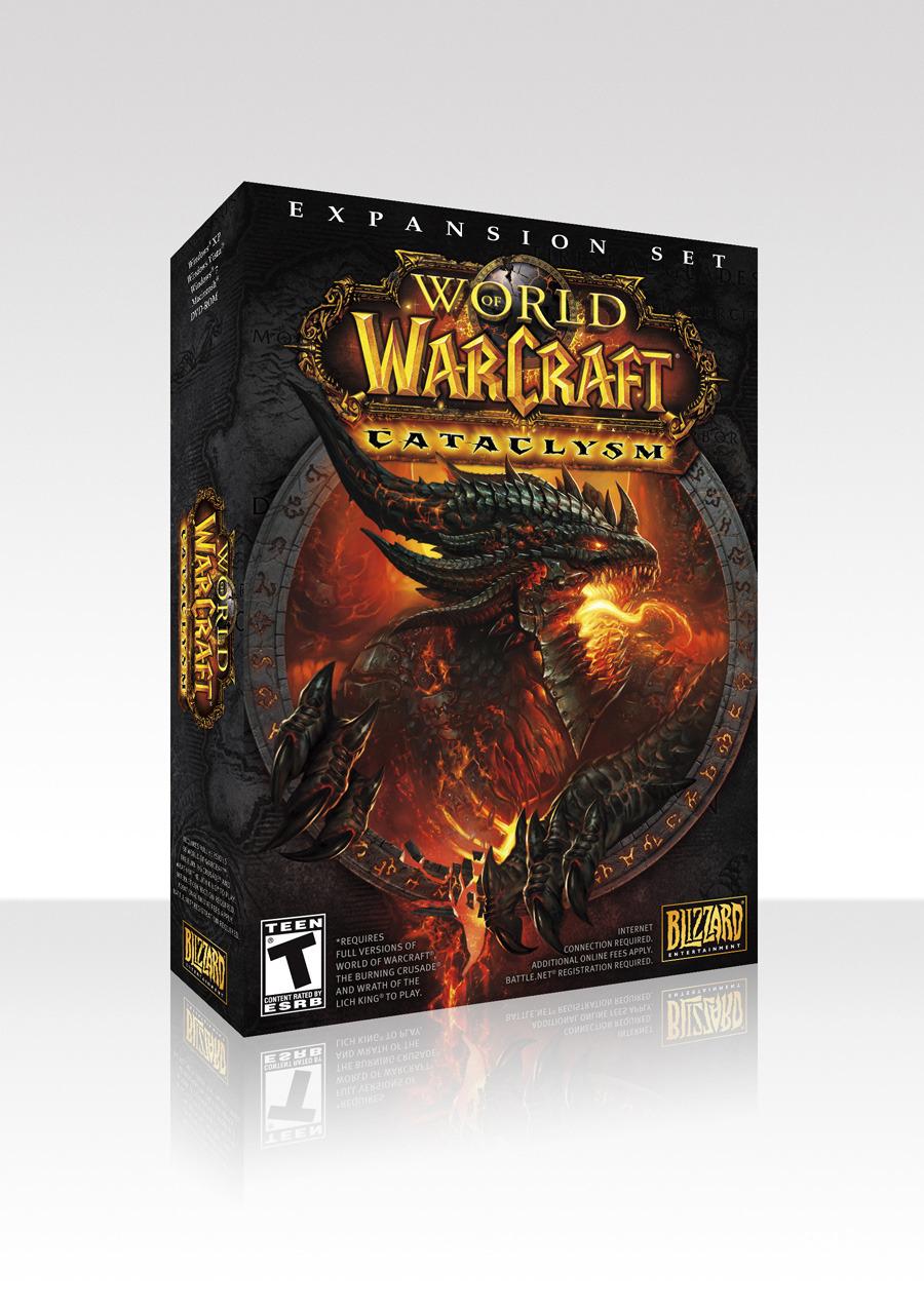 Вы покупаете официальный ключ игры World of Warcraft Cataclysm