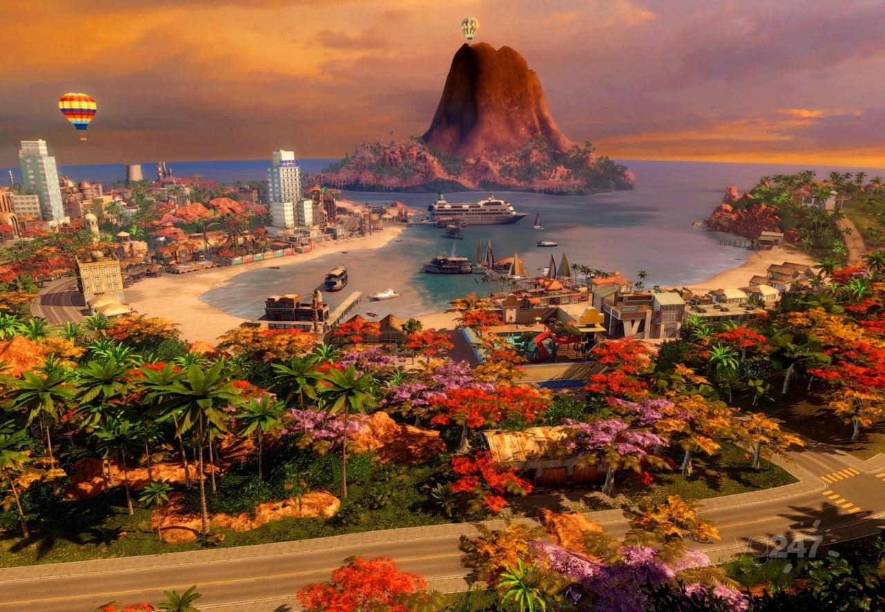 Tropico 5 v 110 + 14 dlc 2014 pc  repack от xatab -