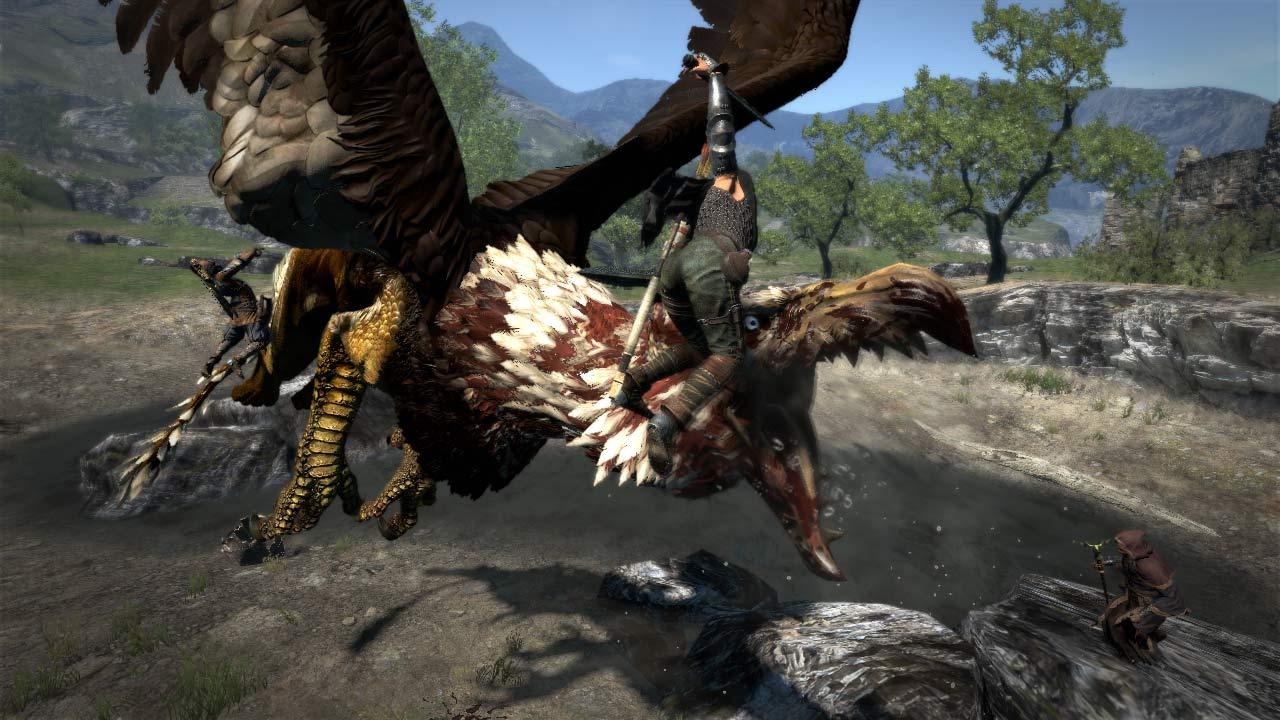 Dragon s Dogma takes Capcom into triple A RPG combat VG247