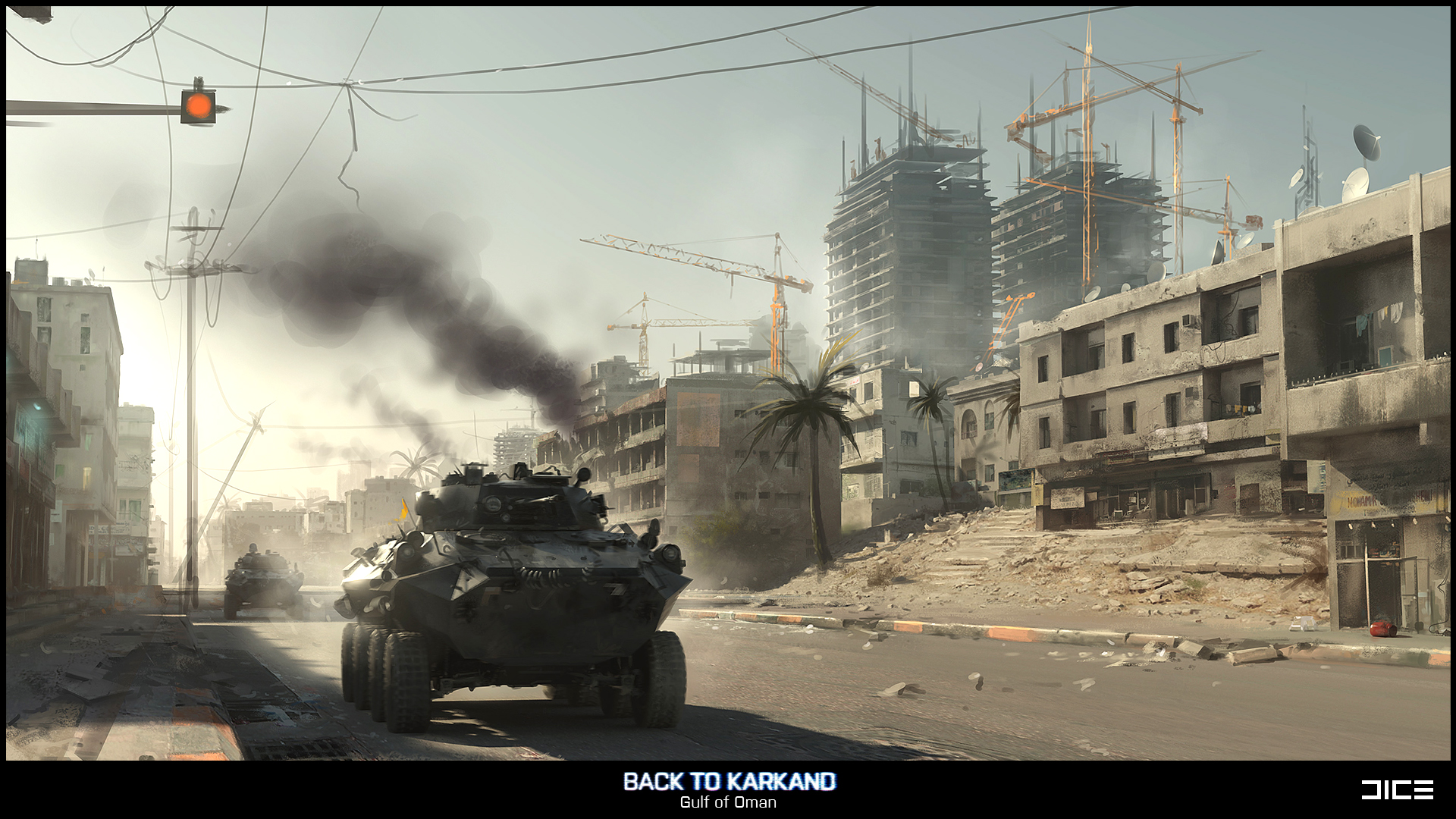 Battlefield 3 concept art released for gulf of oman and - Battlefield v concept art wallpaper ...