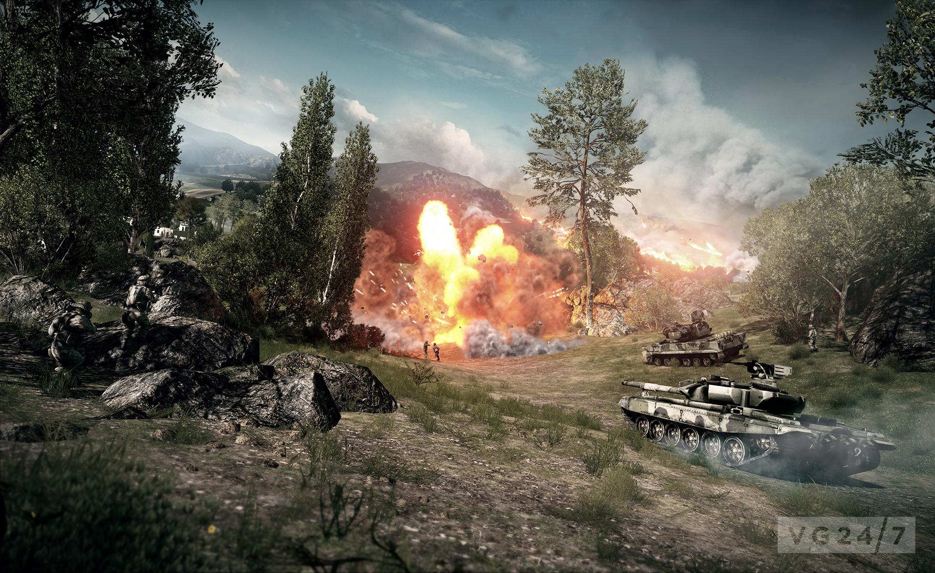 Battlefield 3 Caspian Border Shots Show A Gorgeous Game