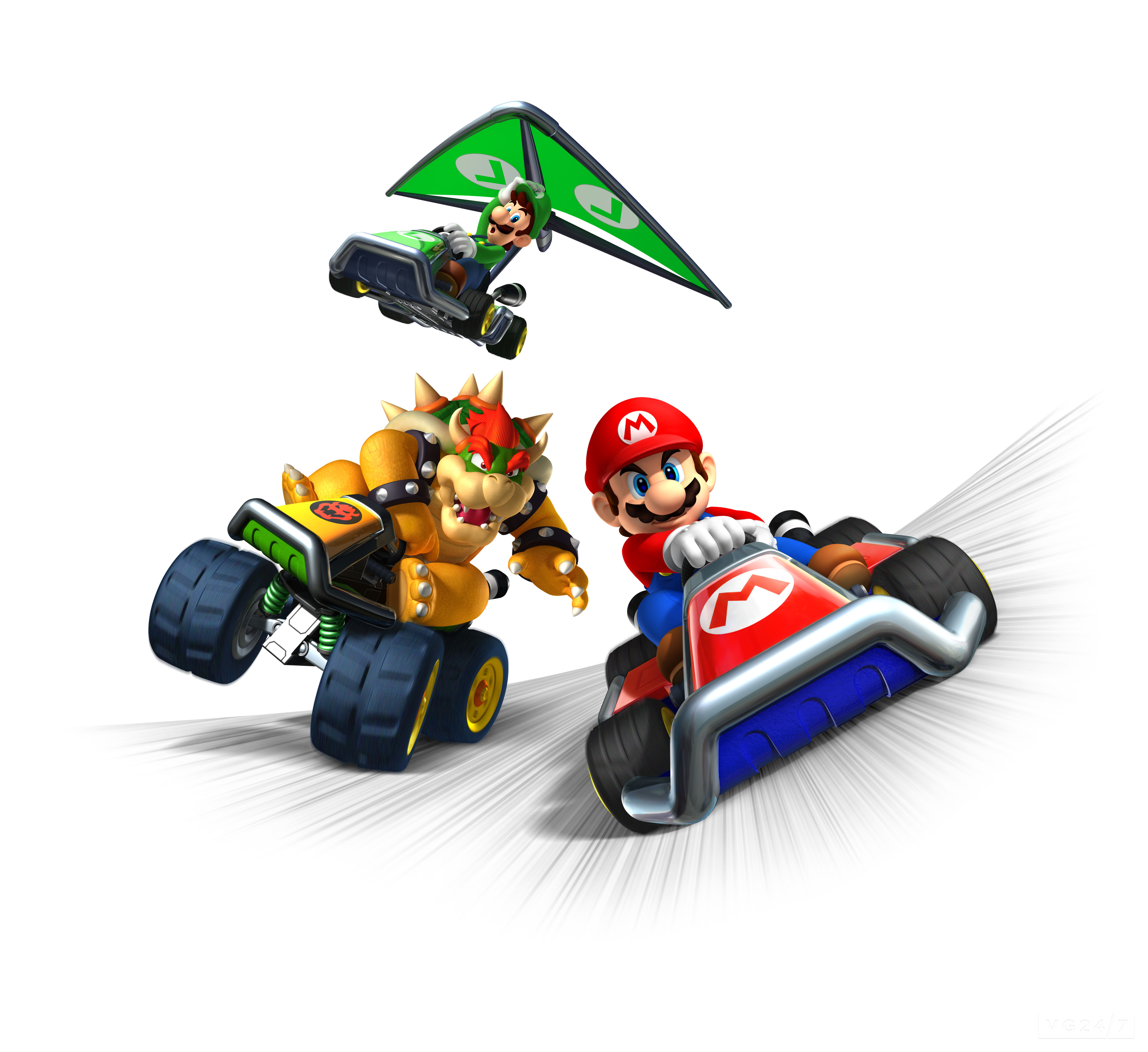 Quick Shots Mario Kart 7 Renders Are Rather Adorable Vg247