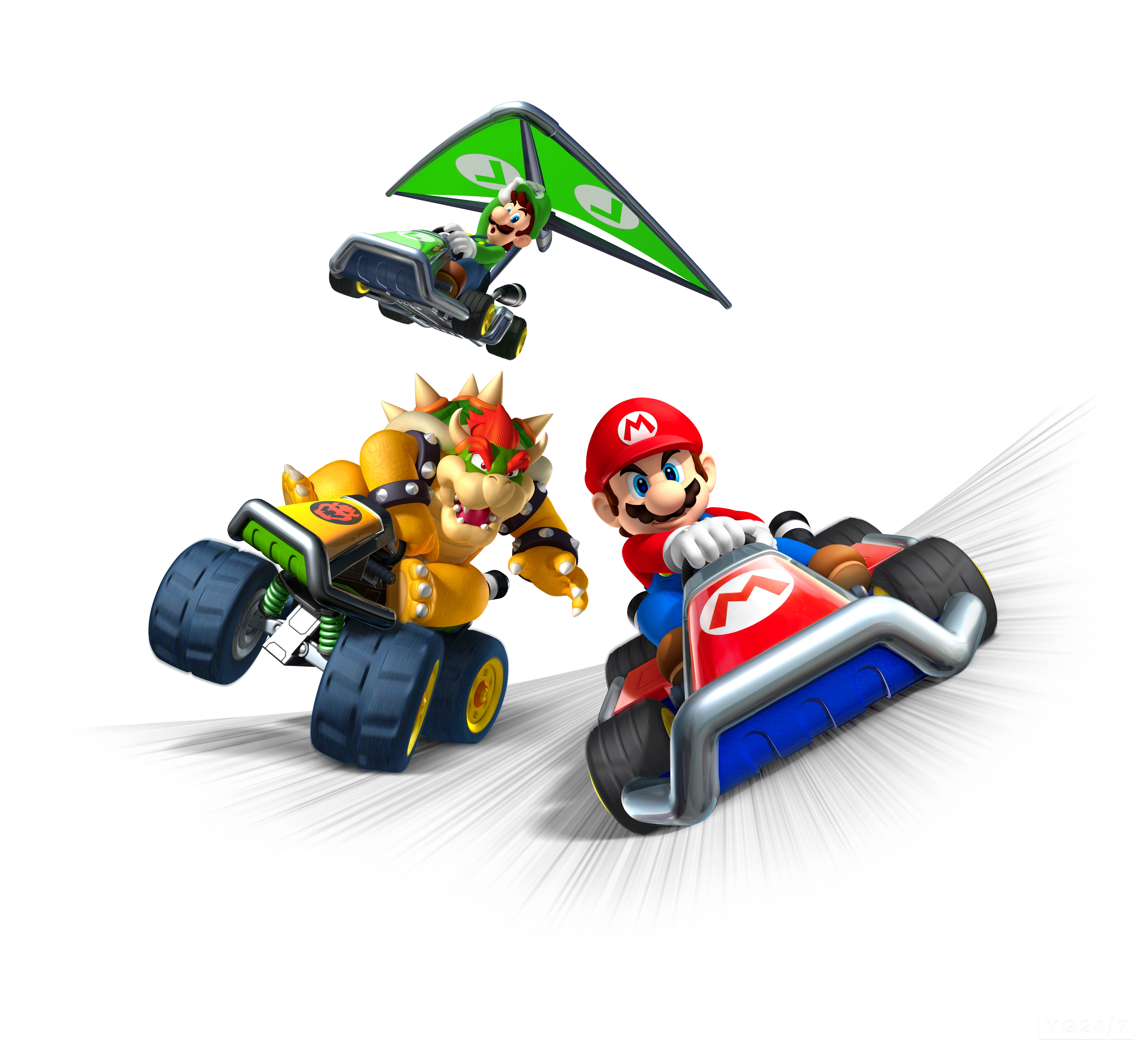 quick shots mario kart 7 renders are rather adorable vg247. Black Bedroom Furniture Sets. Home Design Ideas