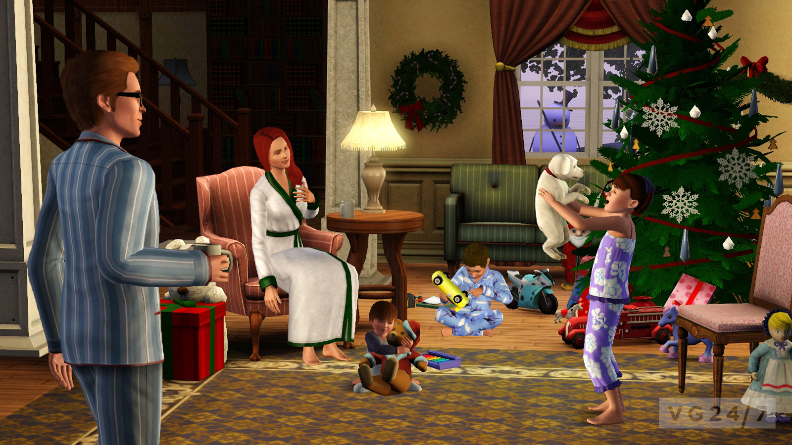 Quick Shots Get Into The Holiday Spirit With The Sims 3