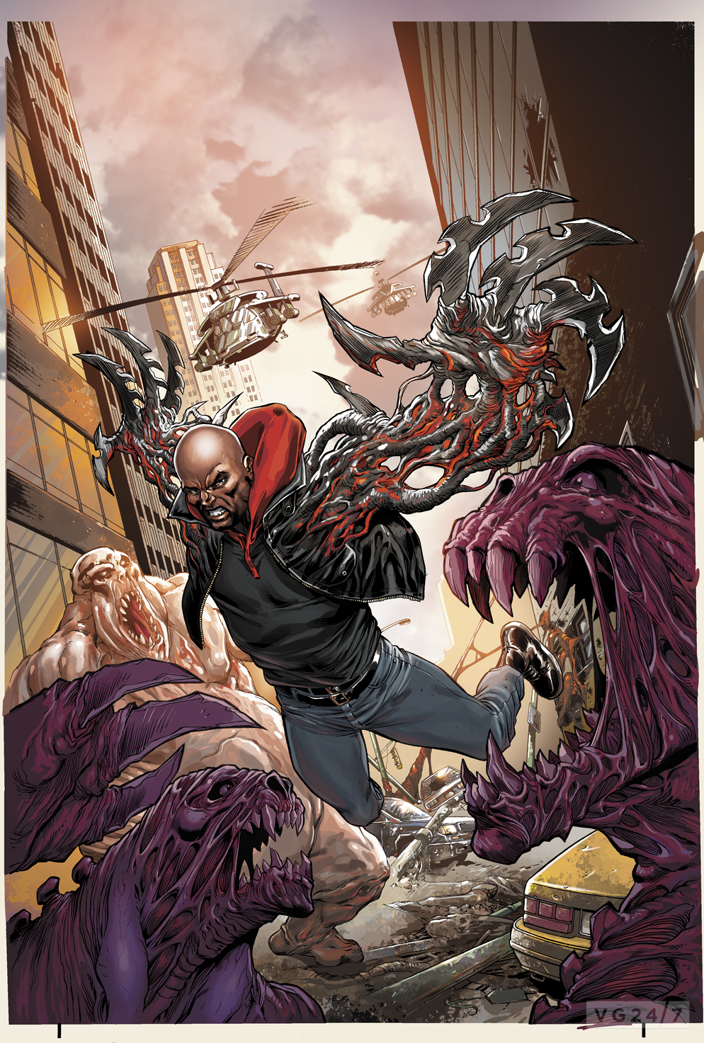 Radical And Dark Horse Announce Prototype 2 Comic Series