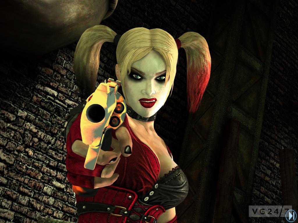 Harley Quinn Update Released For Batman Arkham City