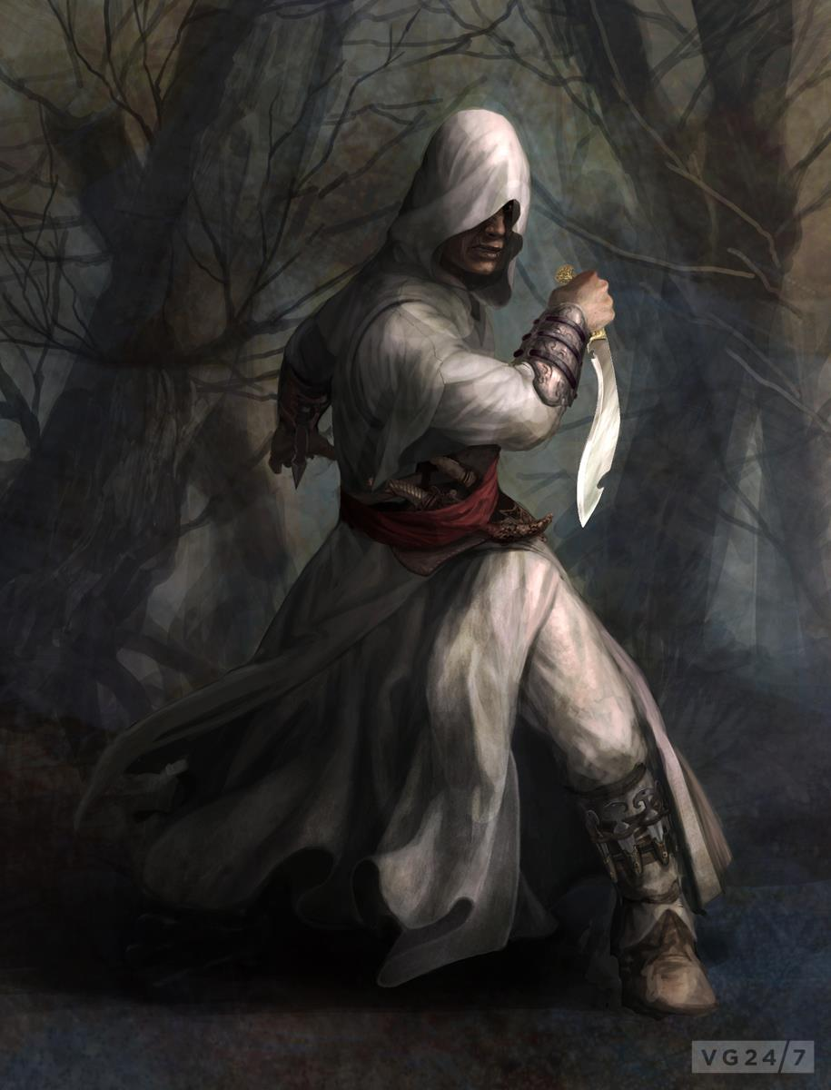 Assassin's Creed concept art shows female protagonist, Prince of Persia