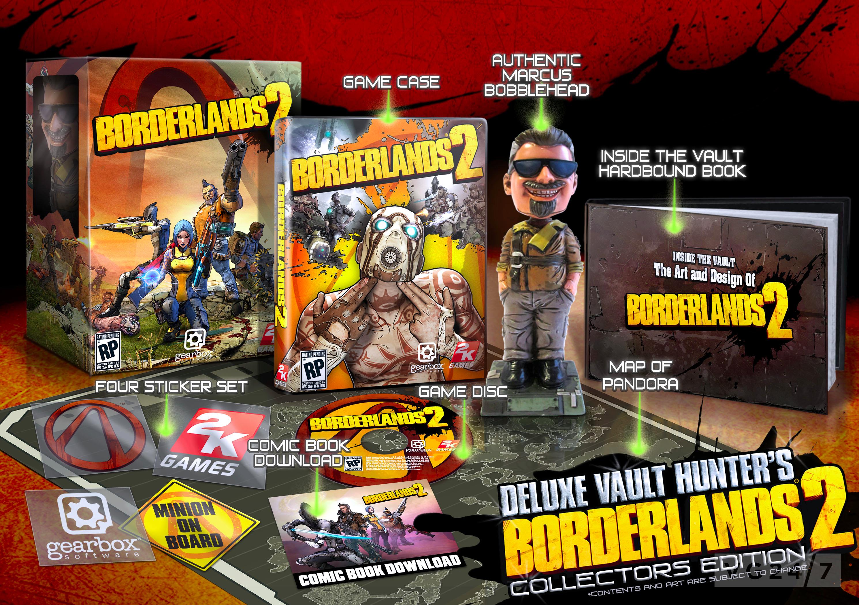 Gearbox details borderlands 2 collectors editions vg247 - Borderlands 3 box art wallpaper ...