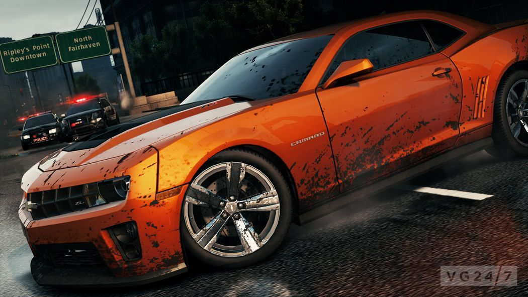 American Muscle Cars And Trucks Highlighted In Latest Nfs