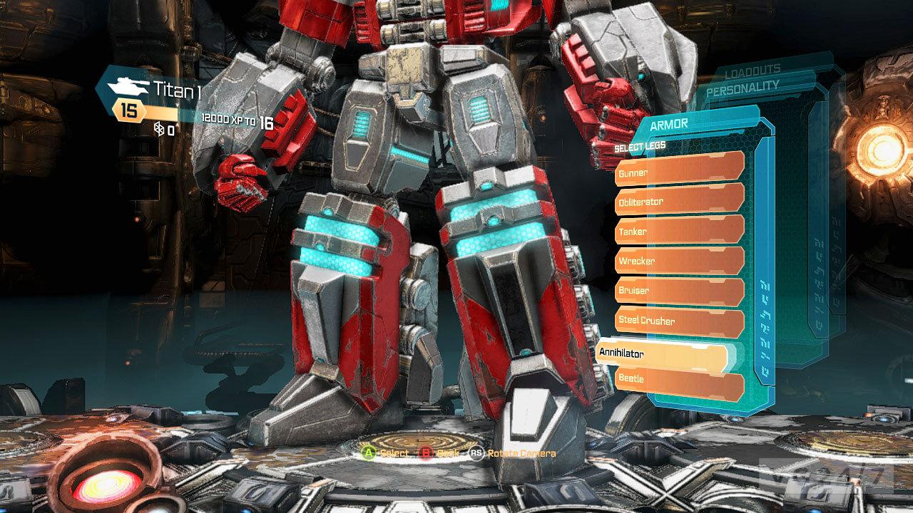 transformers fall of cybertron launch screens show