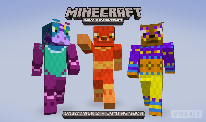 Minecraft Xbox 360 Skin Pack 2 due August 24 - VG247