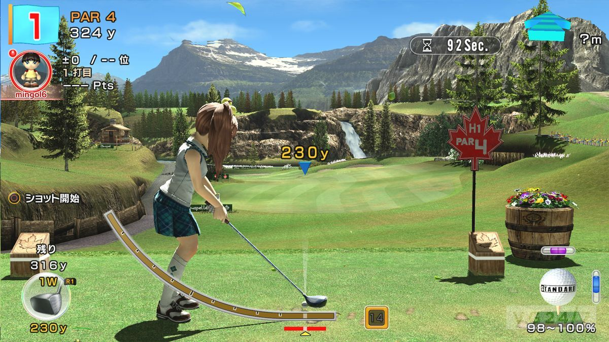 Hot Shots Golf 6: PS3 Screens show off slot mode and new ...