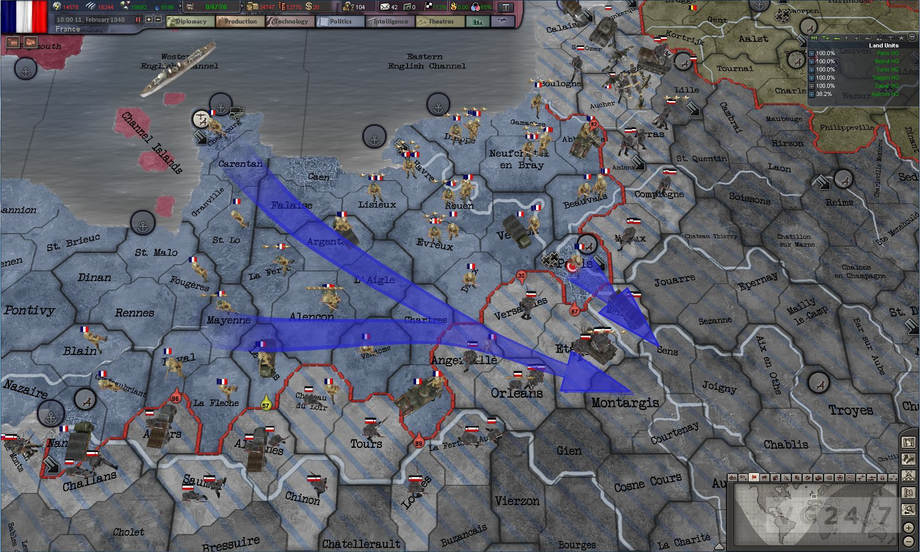 Hearts of Iron 3: Their Finest Hour has beta slots open ...