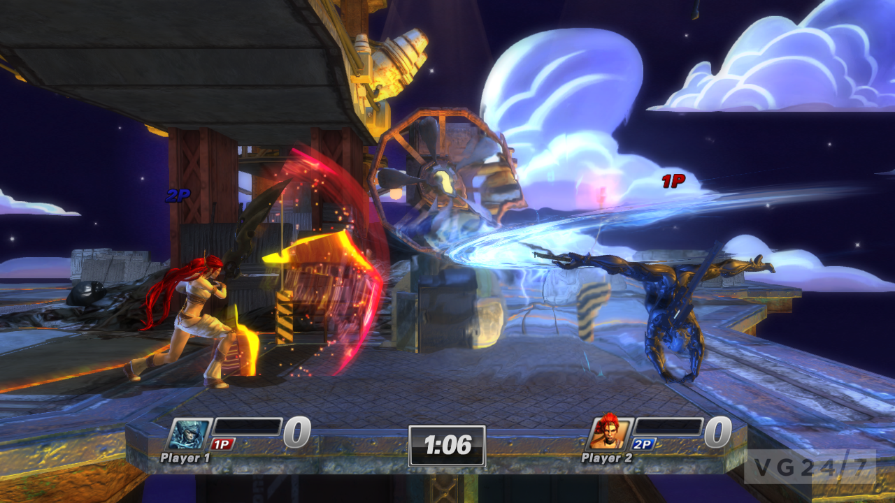 PS All-Star: Battle Royale PAX screens show Raiden, Nariko ...