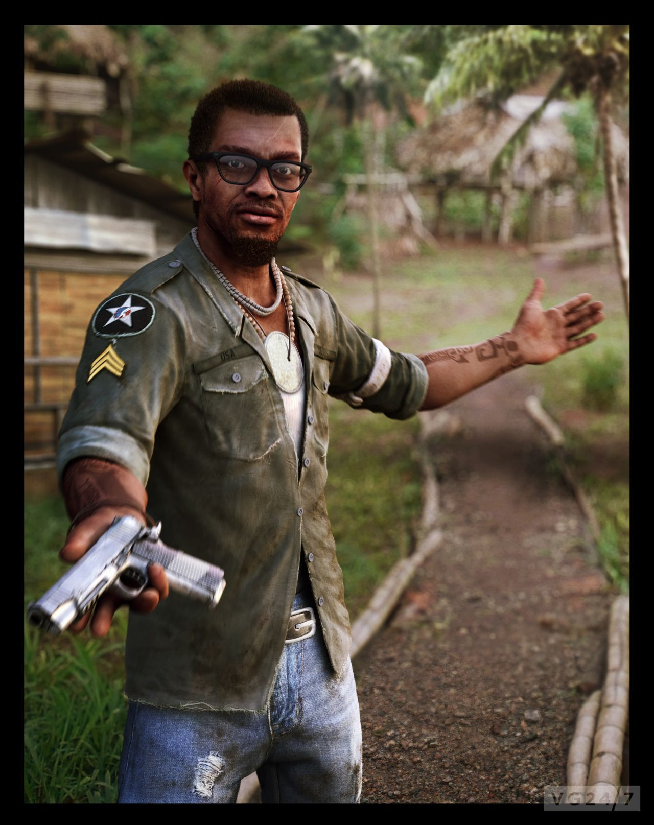 Far Cry 3 Trailer Introduces Dennis And Citra Of The Tribe -8538