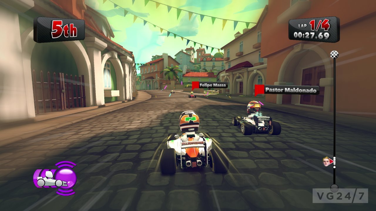 f1 race stars dated first gameplay trailer and new screens released vg247. Black Bedroom Furniture Sets. Home Design Ideas