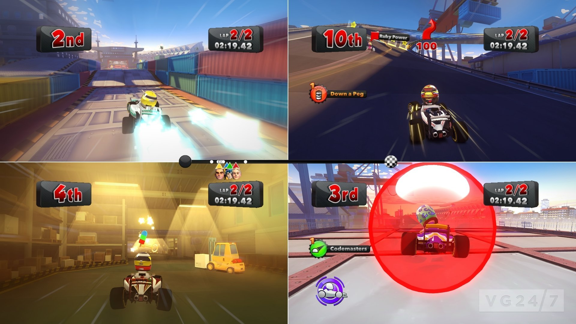 F1 Race Stars dated, first gameplay trailer and new ...