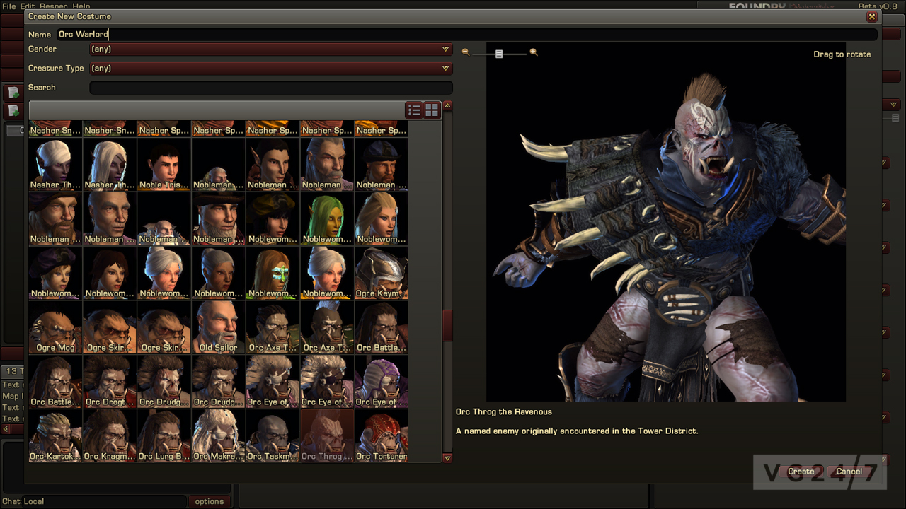 Neverwinter New Screens Show Character Creation Rich Fantasy Worlds Vg247