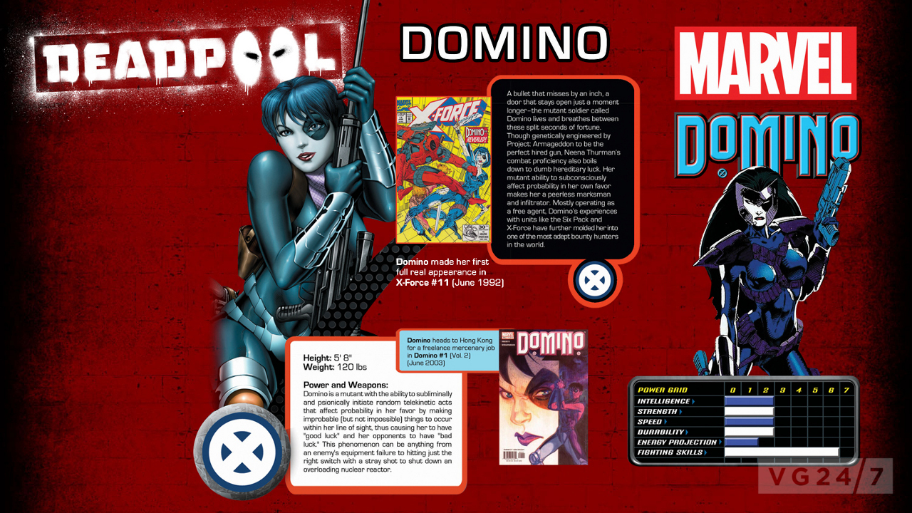 Why Domino from Deadpool 2 looks so familiar
