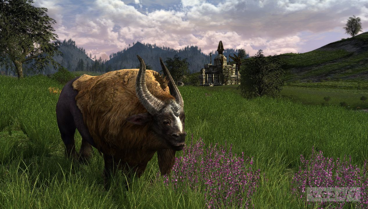 LOTRO: Riders of Rohan landscape screens prep you for ...