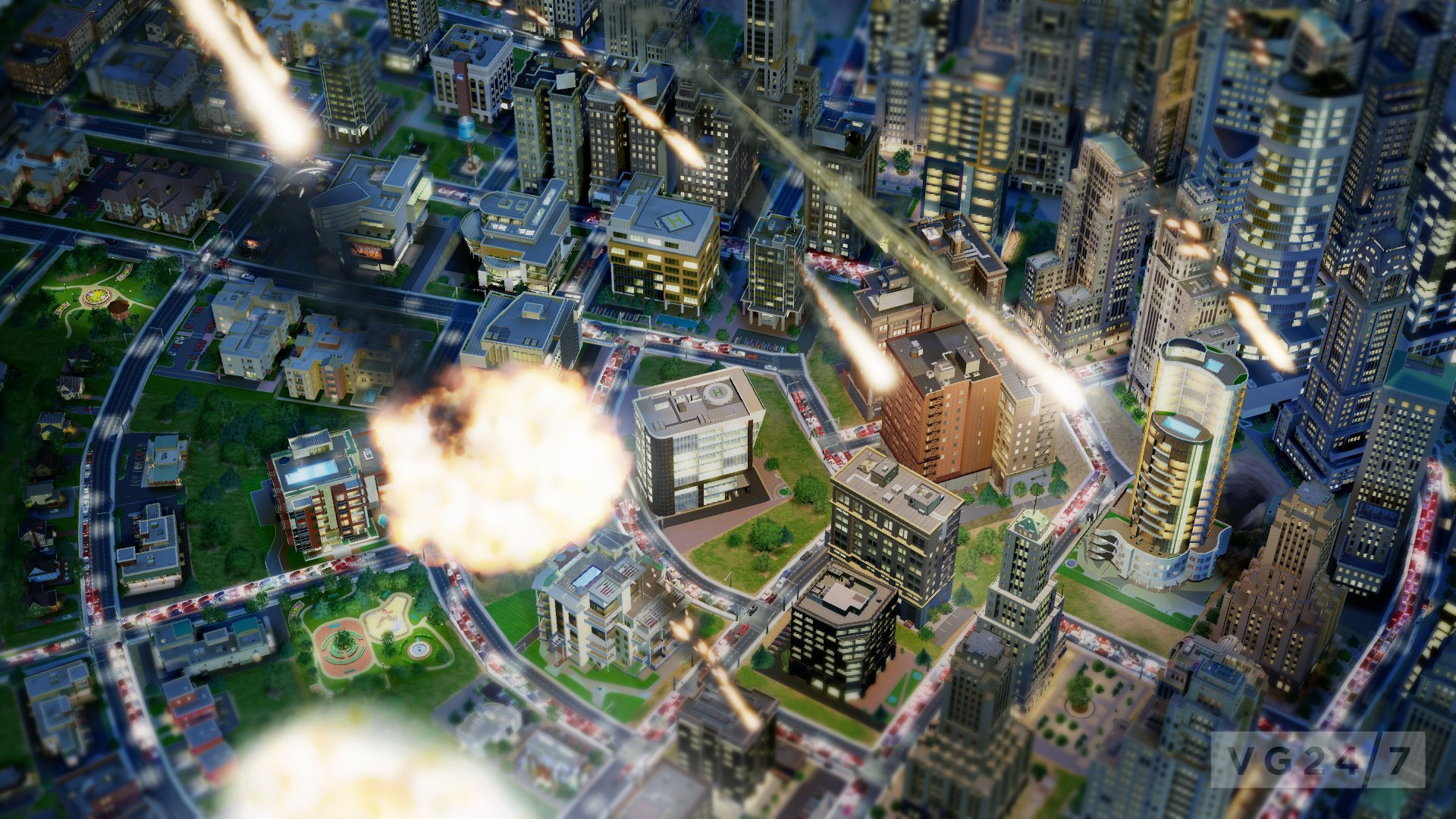 City Simulation Natural Disasters