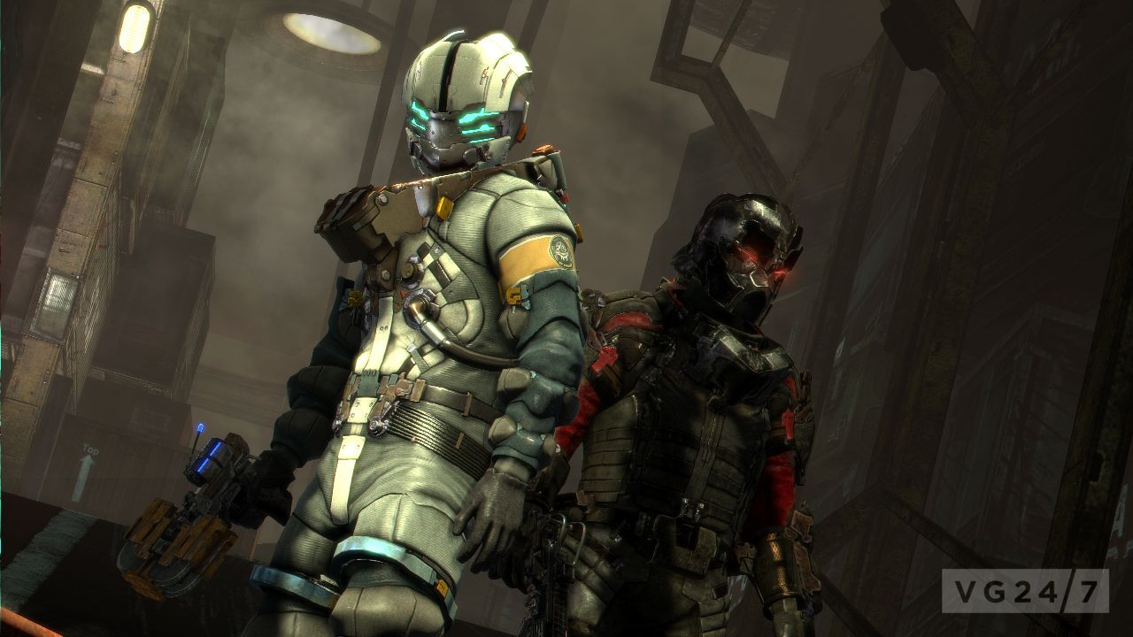 dead space 3 screenshots awash with space suits. Black Bedroom Furniture Sets. Home Design Ideas