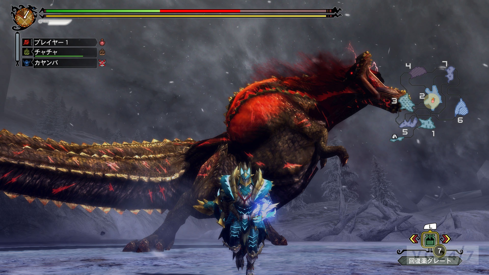 Monster Hunter 3 Ultimate Screens Compare 3DS, Wii U